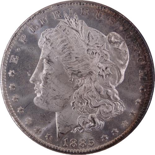 1885-O Morgan Dollar MS65 Prooflike NGC - Obverse