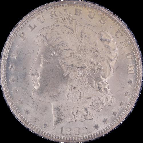 1880-CC Morgan Dollar GSA Hoard MS63 NGC - Obverse
