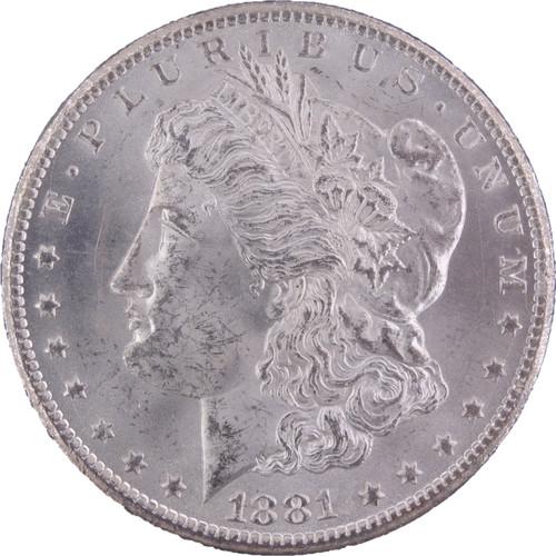 1881-CC Morgan Dollar GSA Hoard MS63 NGC - Obverse