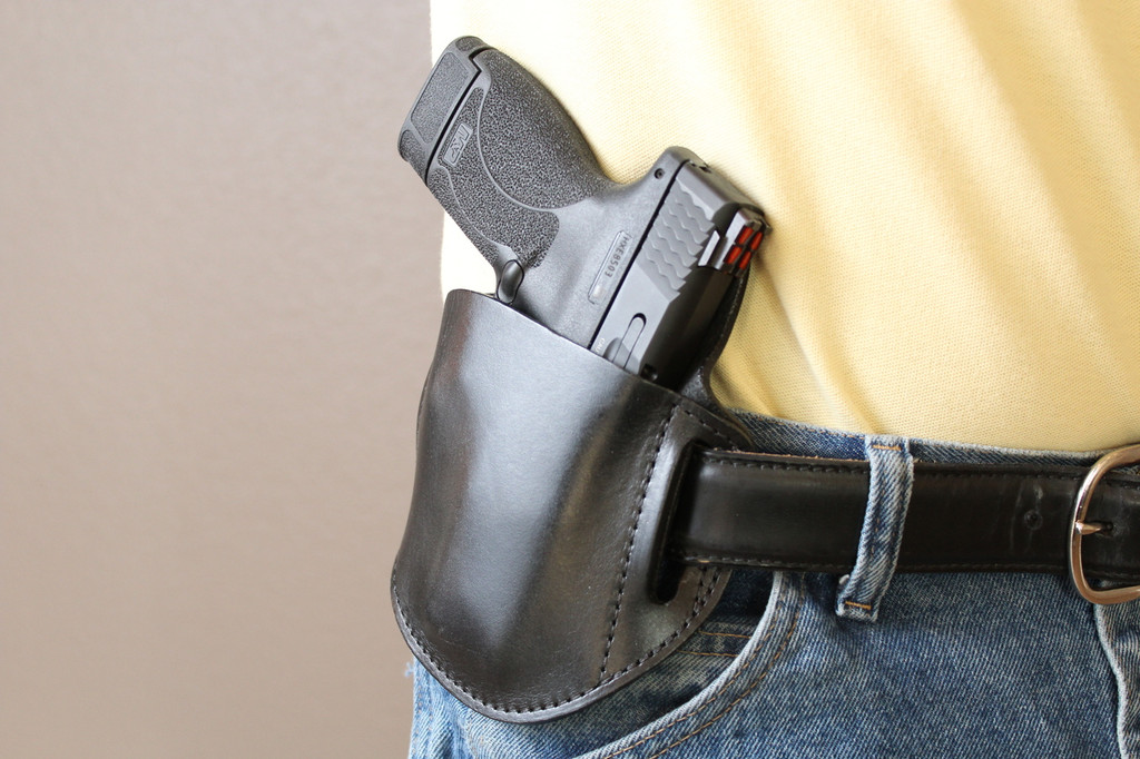 Tactical Edge - On the Belt Concealment Holster 2 on model