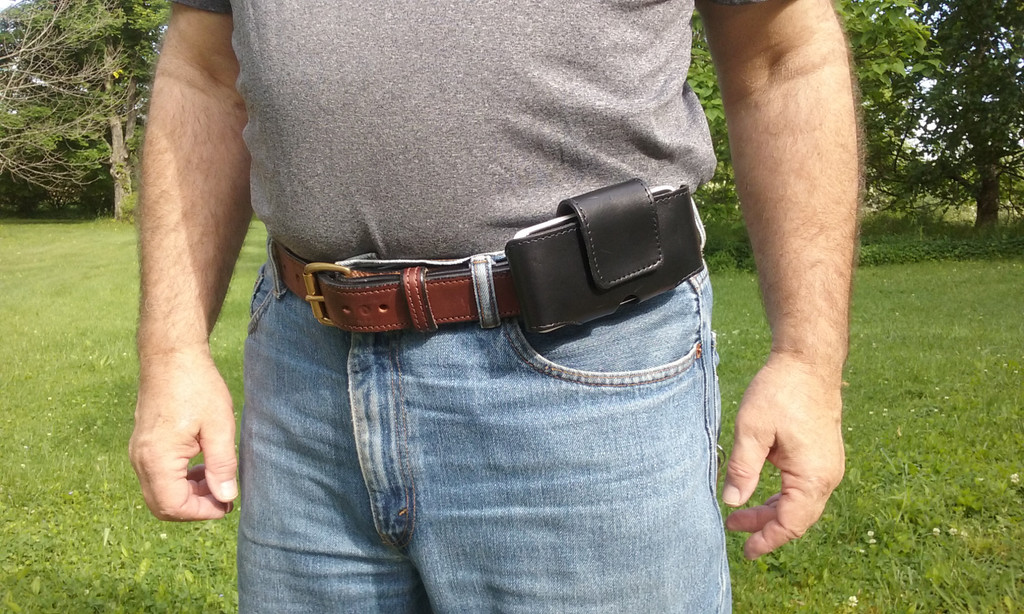 Hide-It Holster with Cell Phone Case Accessory