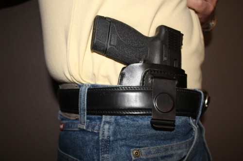 Tactical Edge - in the Waistband - Concealment Holster on model