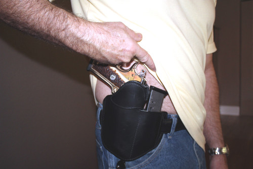 Tactical Edge, On The Belt concealment holster reveal