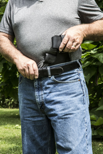 HIDE-IT HOLSTER W/PLAIN CLIP & CELL PHONE CASE