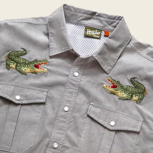 Gaucho Snapshirt - Big Gators