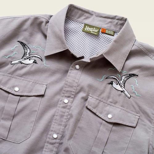 Gaucho Snapshirt - Seagull