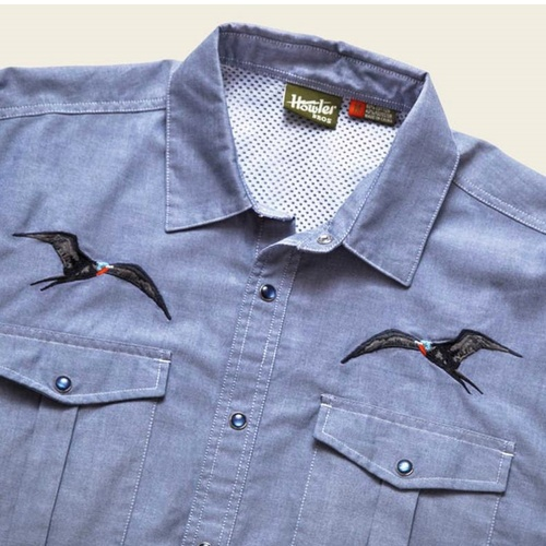Gaucho Snapshirt - Man-O-War Birds