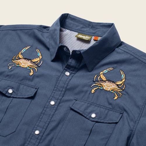Gaucho Snapshirt - Crab