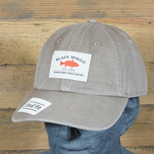 Black Mingo Washed Chino Cap Small Fit