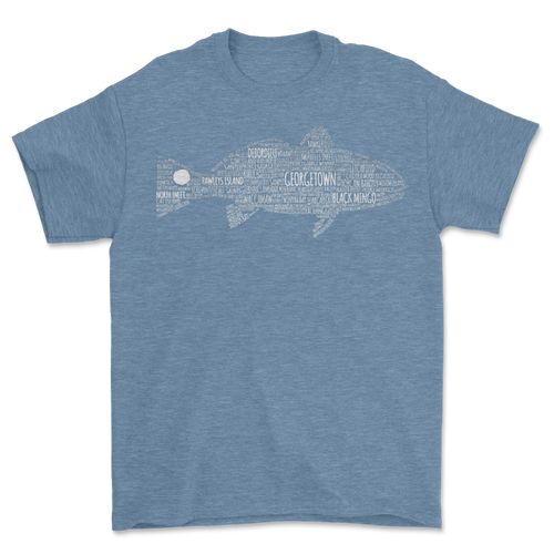 Georgetown Redfish Tee