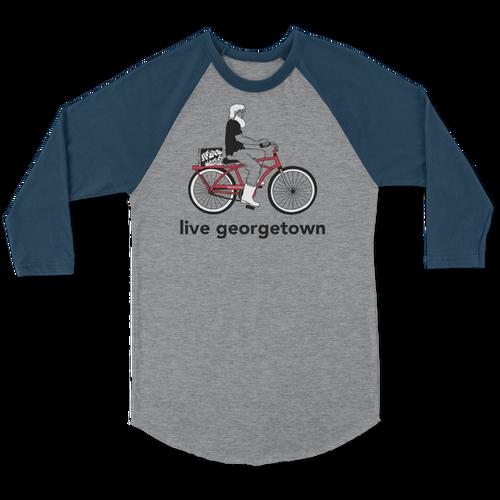 Live Georgetown Raglan 3/4 Sleeve T