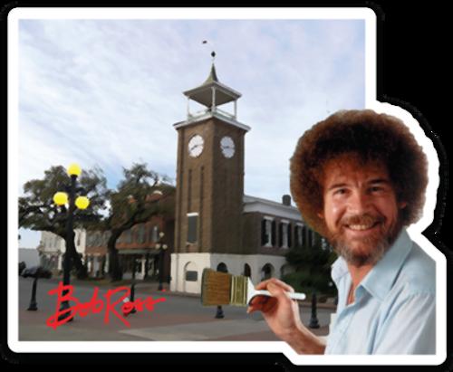 Bob Paints Georgetown
