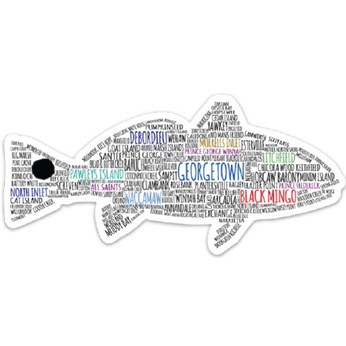 Georgetown Redfish Sticker