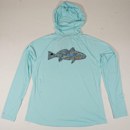 W's GeoFish Solarflex Hoody