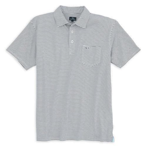 Pamlico Stripe Polo