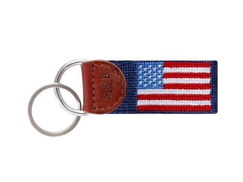 American Flag Fob