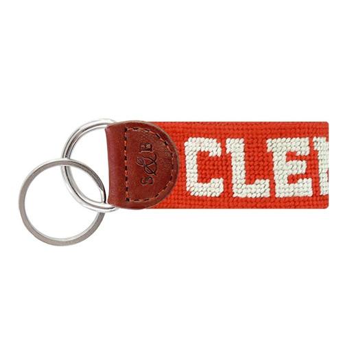 Clemson Orange Key Fob