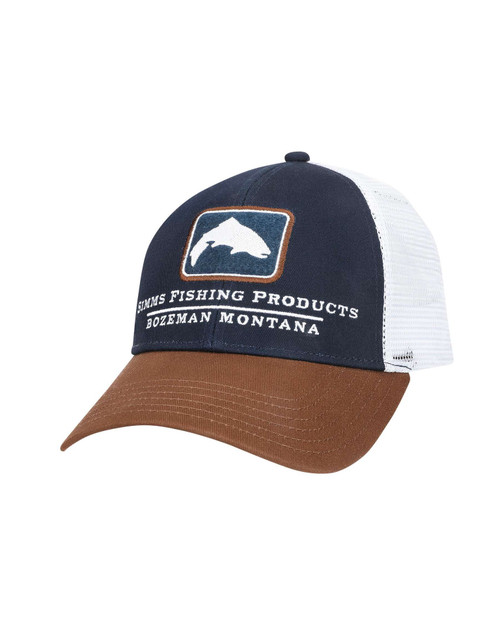 Small Fit Trout Icon Trucker