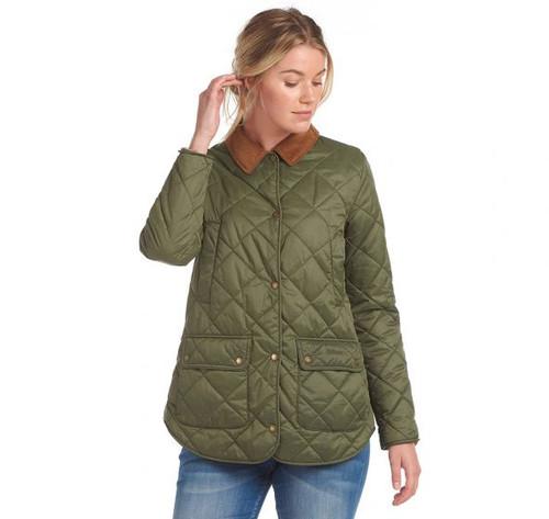 Barbour Laura Ashley Spruce Quilt Jacket
