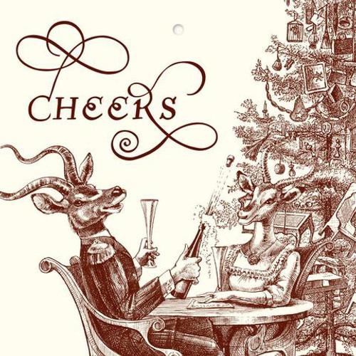 """Christmas """"Cheers""""  Gift Tags"""