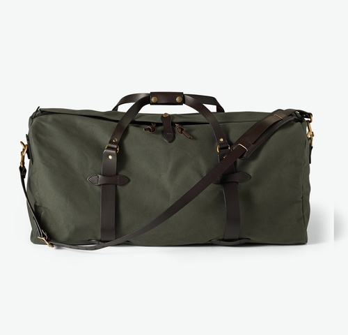Rugged Twill Duffle Bag - Large