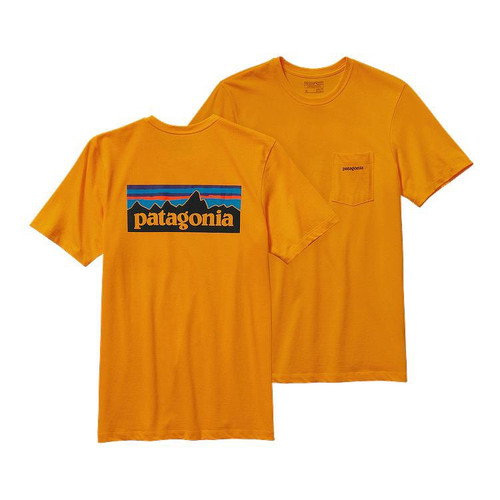 M's P-6 Logo Cotton Pocket T-Shirt