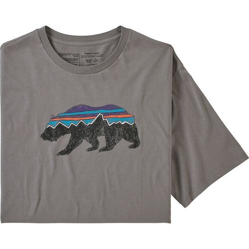 M's Fitz Roy Bear Organic T-Shirt