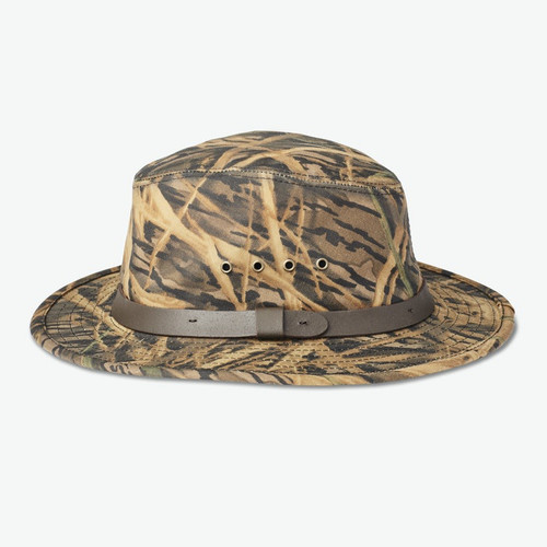 Filson X Mossy Oak Camo Tin Packer Hat