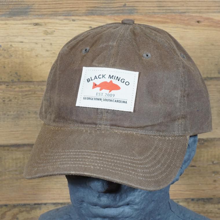 Black Mingo Waxed Cotton Cap