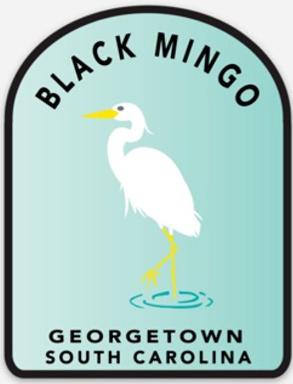 Black Mingo Great White Herron