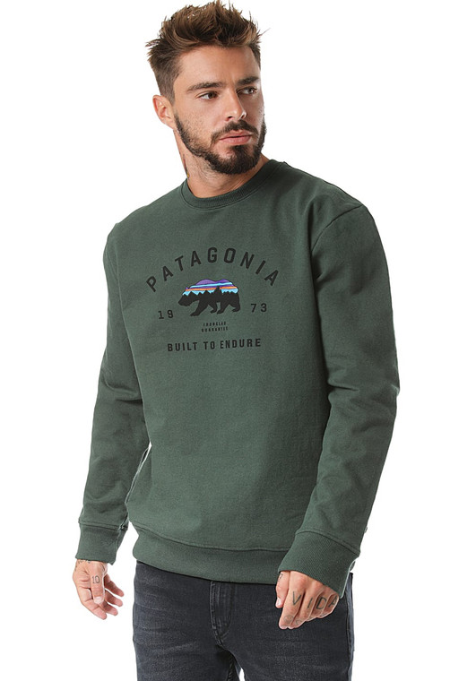 M's Arched Fitz Roy Bear Uprisal Crew Sweatshirt