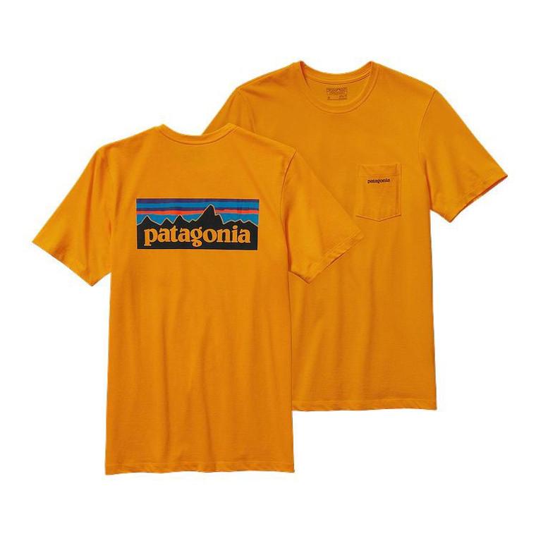 M's P-6 Logo Cotton Pocket T-Shirt