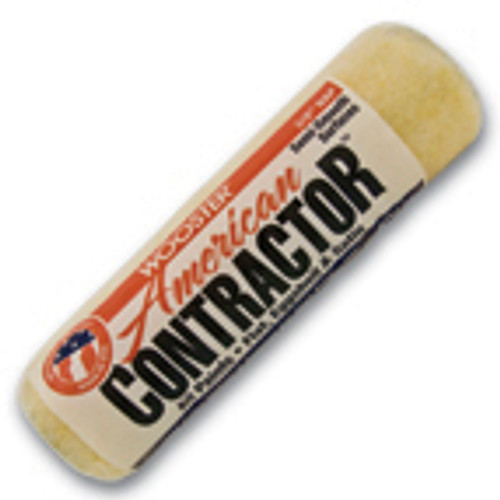 "American Contractor 9"" x 1/2""  Professional Polyester Knit Roller Cover (Case of 12)"