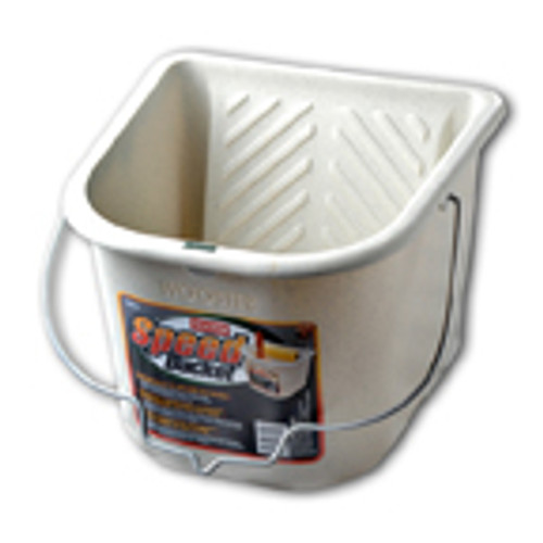 "Speed Bucket 7 1/2"" Wide Built in Roll Off Area Works With Any Roller 7"" or Smaller Powerful Magnet To Hold Your Brush 1/2"" Gallon Capacity (Case of 4)"