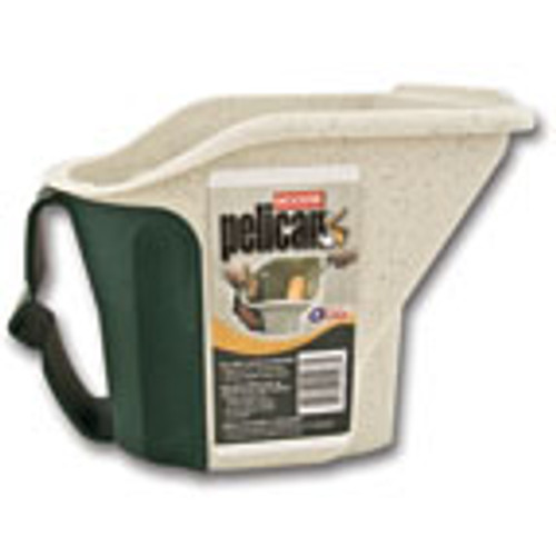 Pelican Bucket Built in 5 1/2 Wide Roll Off Area 1 Quart Capacity Magnet To Hold Brush Adjustible Strap For Hand(Case of 6)