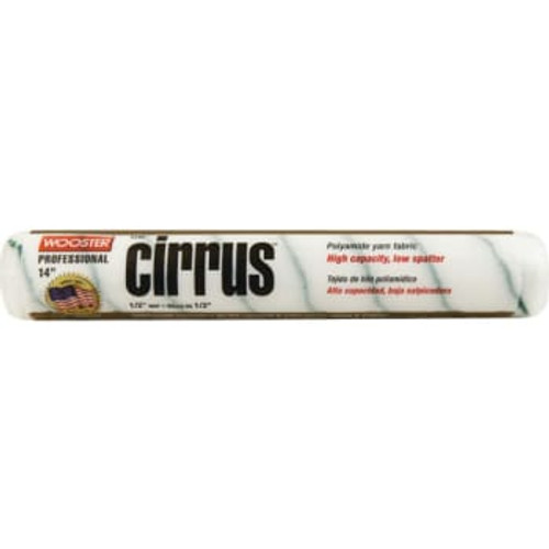 """Wooster Cirrus 14"""" x 1/2"""" nap roller cover (Case of 6)"""
