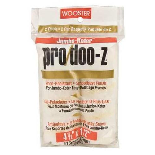 """Wooster Jumbo Koter Pro Doo Z 4 1/2"""" x 1/2"""" - 2 pack (case of 12 - 2 packs)"""