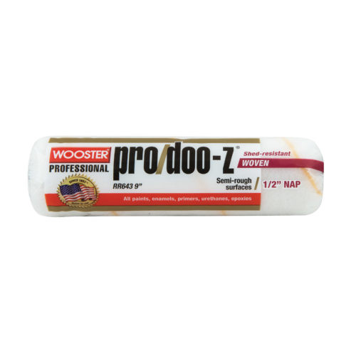 """Wooster Pro Doo Z 9"""" x 1/2"""" Roller Cover (Case of 12)"""