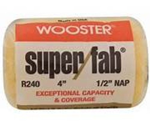 """Super Fab 4"""" x 3/4"""" Roller Cover"""