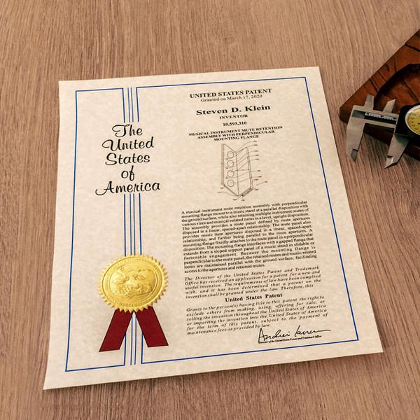 Modern Cover Printed Certificate