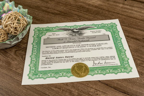 Patent Certificate Paper