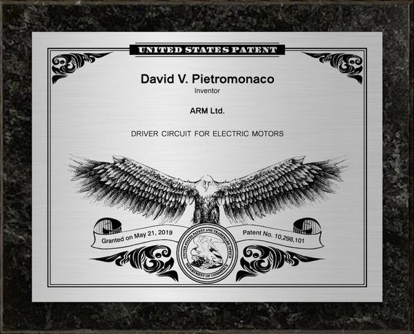 American Eagle Patent Plaques
