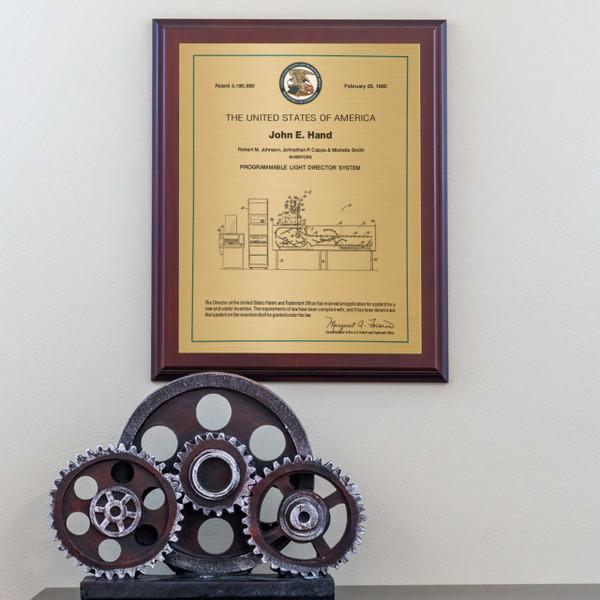 U.S. Series Single Stripe Patent Plaques