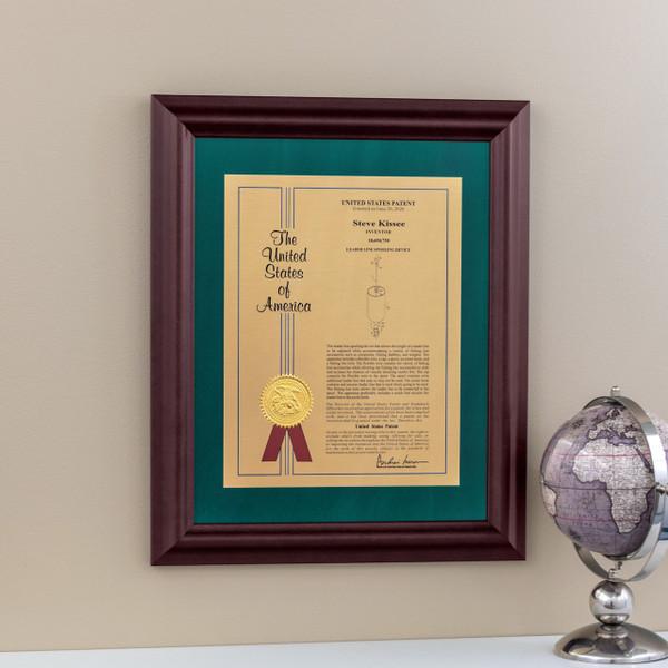 Modern Patent Frame