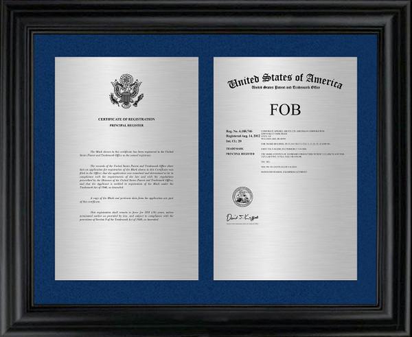 Trademark Framed Double Mount