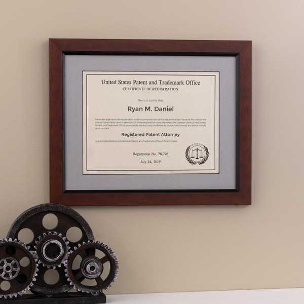 Patent Attorney Frame - Traditional