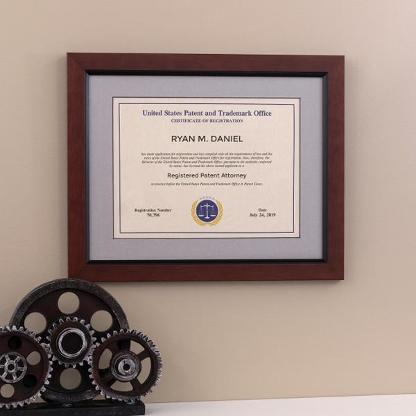 Patent Attorney Modern Frame