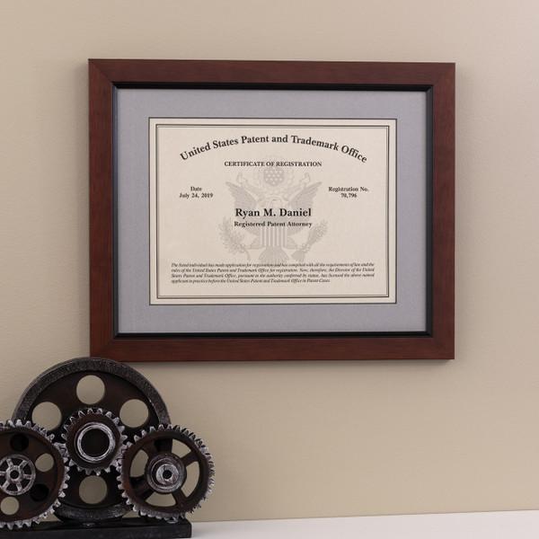 Patent Attorney Frame - Eagle Design