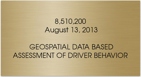 Perpetual Patent Award Tag