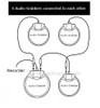 4 conference microphone instructional diagram